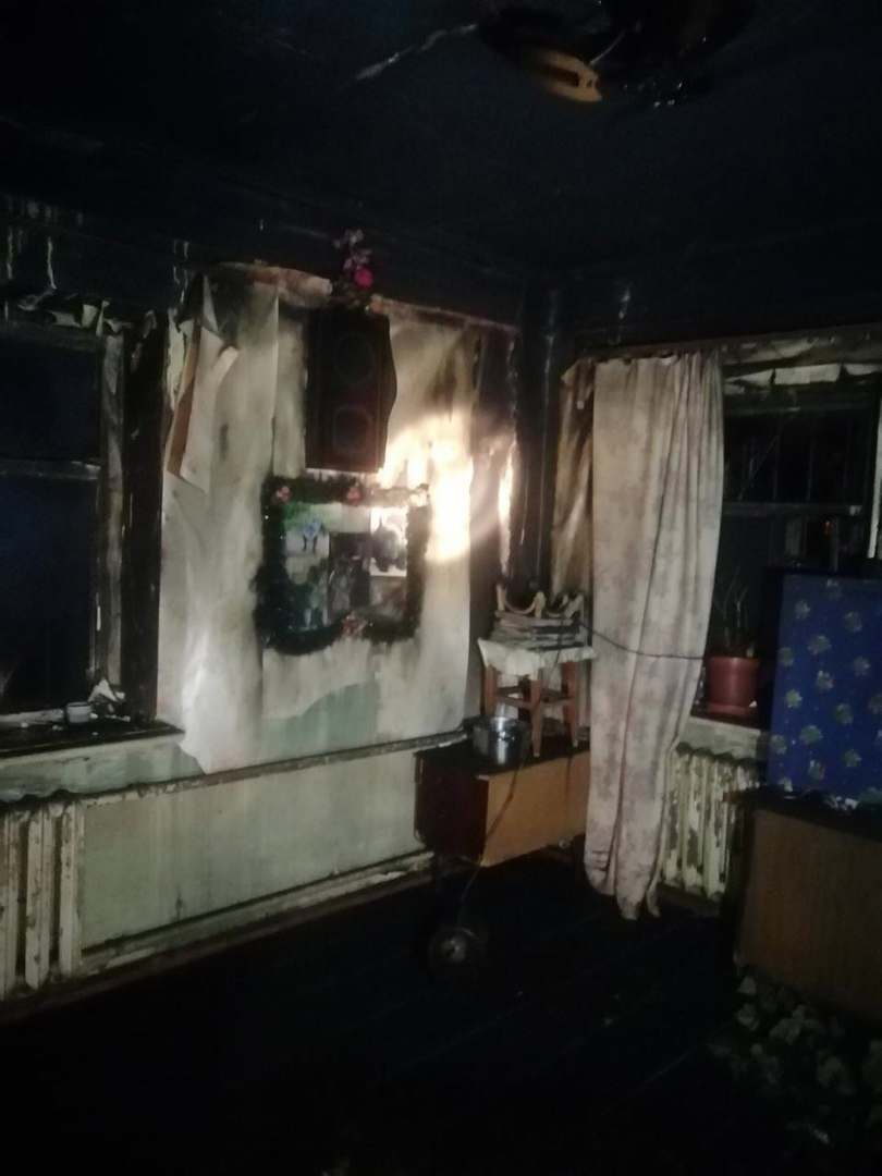 мужчина погиб на пожаре в Нижнем Новгороде 12 декабря