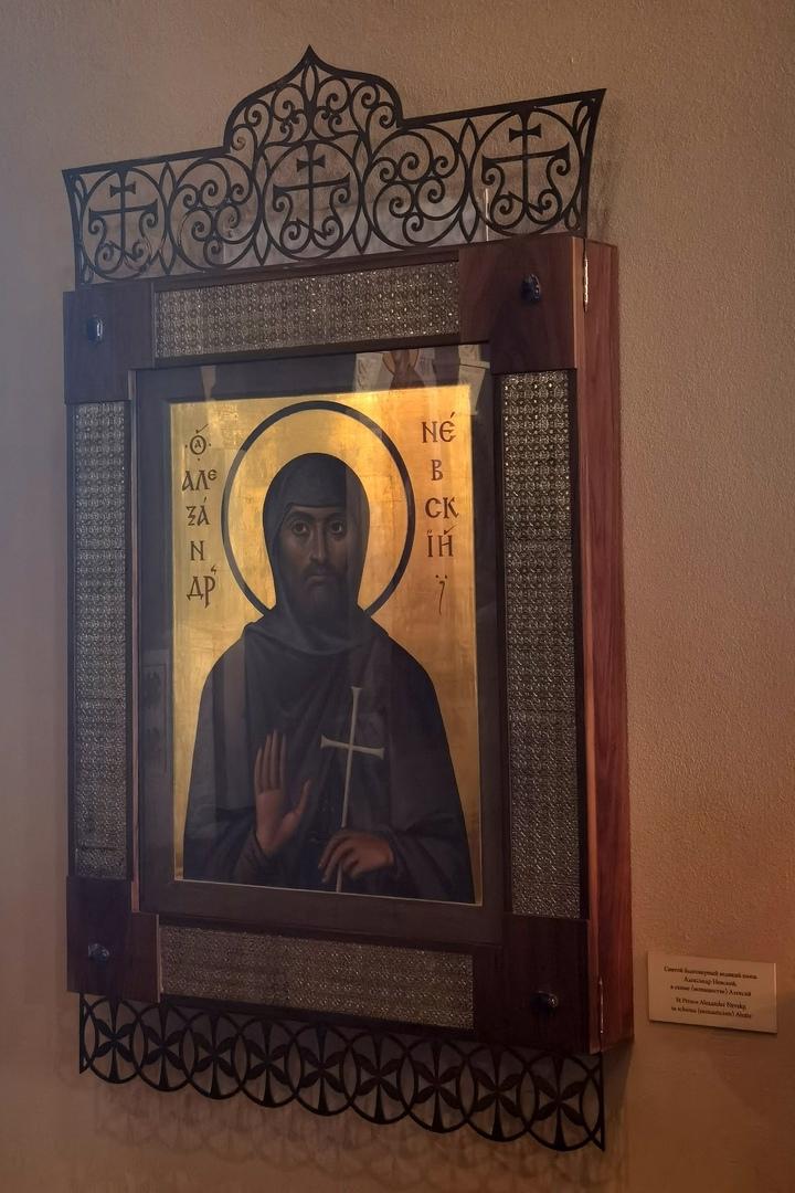Икона Святого Александра Невского в Феодоровском соборе