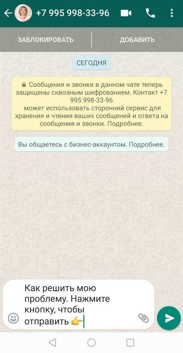 Как мы настроили автоворонку в официальном WhatsApp для продвижения онлайн-курса. Кейс «Школы Здоровья», изображение №4