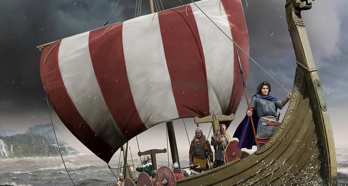 Викинги в походе