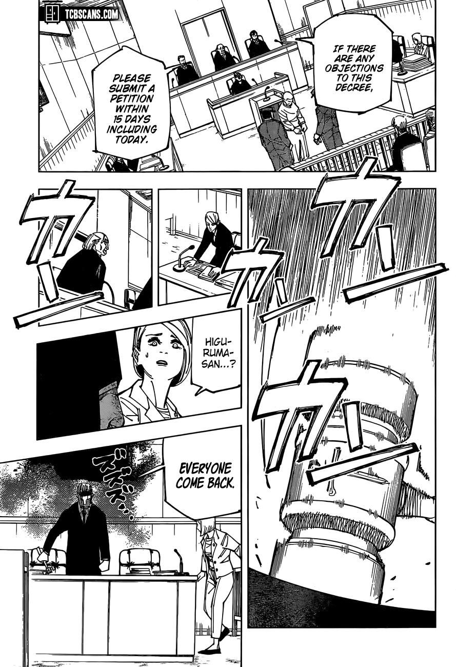 Jujutsu Kaisen Chapter 159, image №17