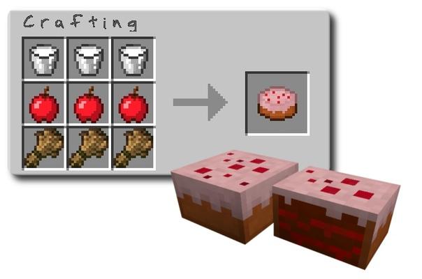 Что делать с тортом в майнкрафте