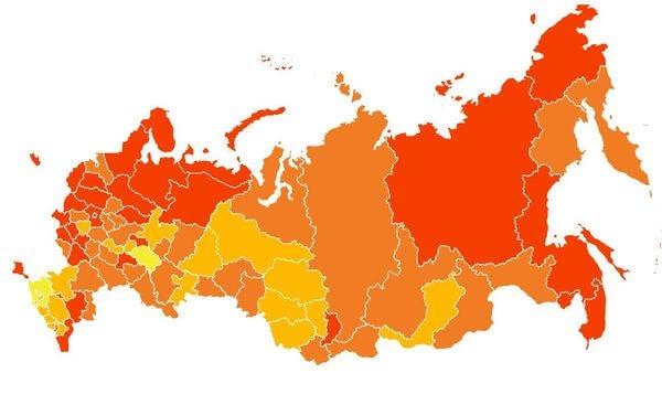"""Самарская область попала в """"коричневый пояс"""" регио..."""