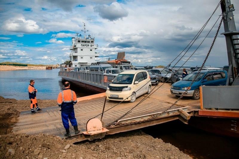 После вмешательства прокуратуры Якутии отремонтировали подъездные пути к причалу для паромов
