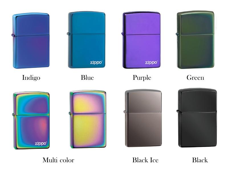 Встречают по одёжке: виды покрытия Zippo, изображение №10