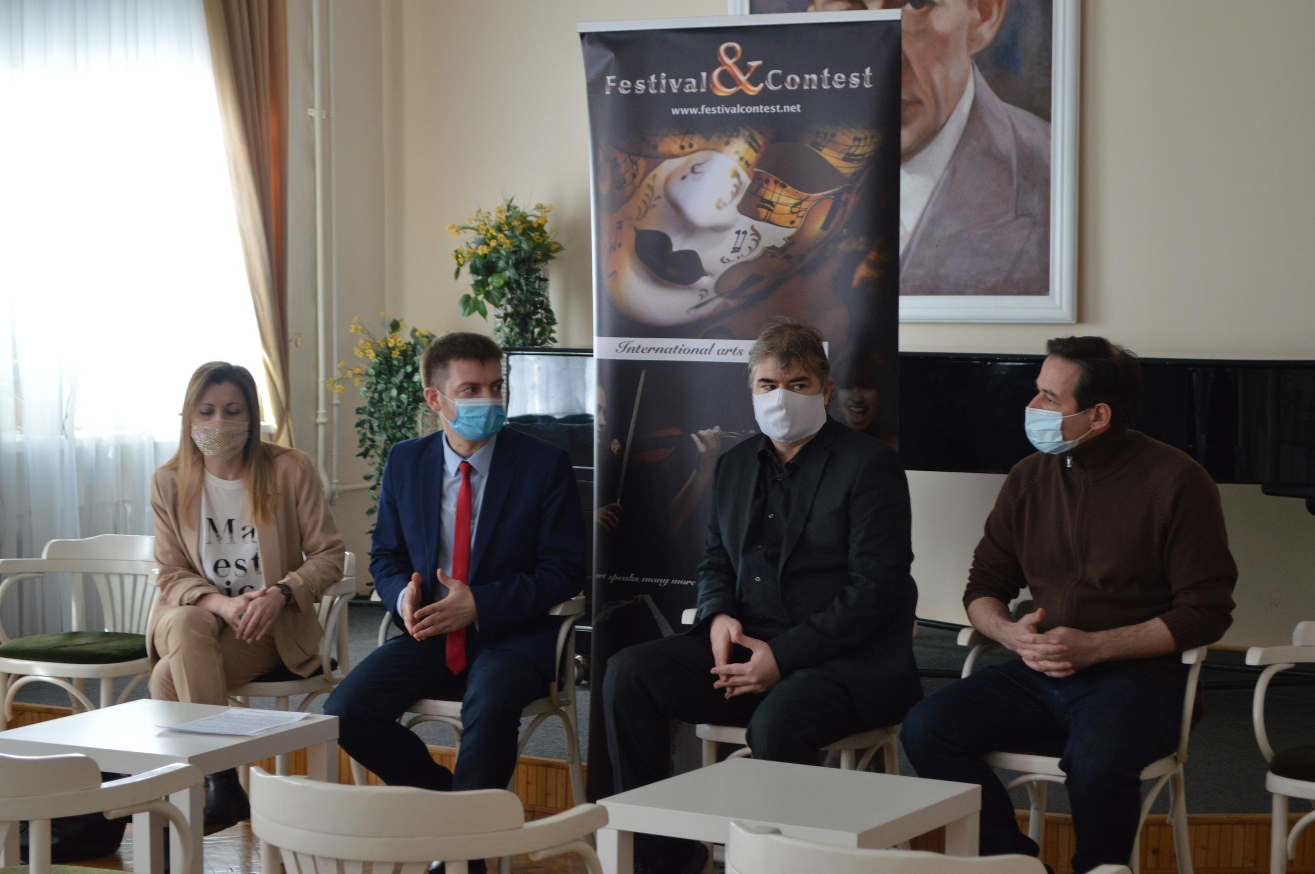 Пресс-конференция, посвященная III Международному фестивалю «Международные дни искусств в Новгороде»
