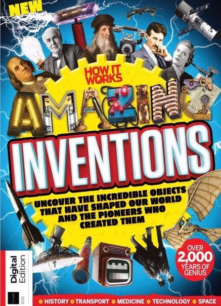 How It Works Book of Amazing Inventions. Second Edition 2020