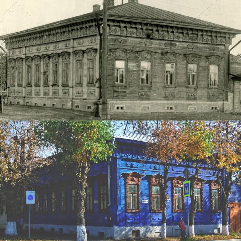 Дом Суздальцевых-Ушаковых 1940-е гг. / 2020 г.