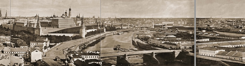 Москва без людей в 1867 году. Где все люди?, изображение №32