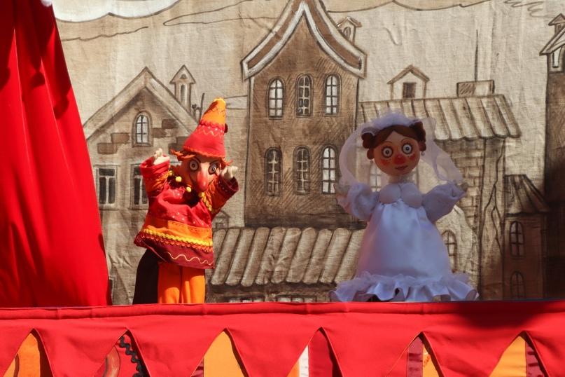 «Комедия о Петрушке» Государственного театра кукол (Белгород)