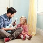 Очень папочку люблю! — короткие стихи про папу для малышей