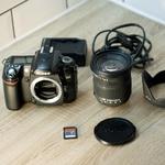 Фотоаппарат Nikon D80 + объектив Sigma DC 17-70mm