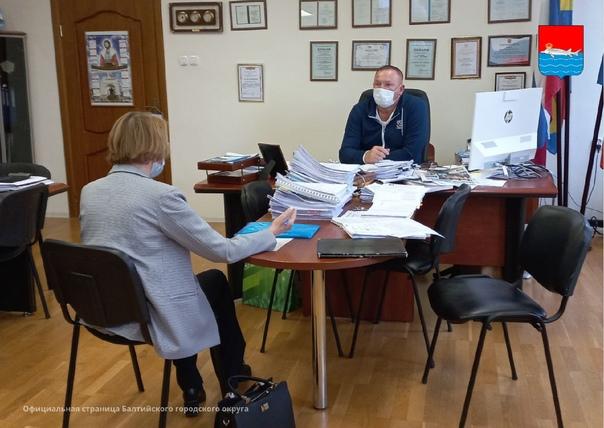 ✅ Глава администрации Сергей Мельников провел прие...