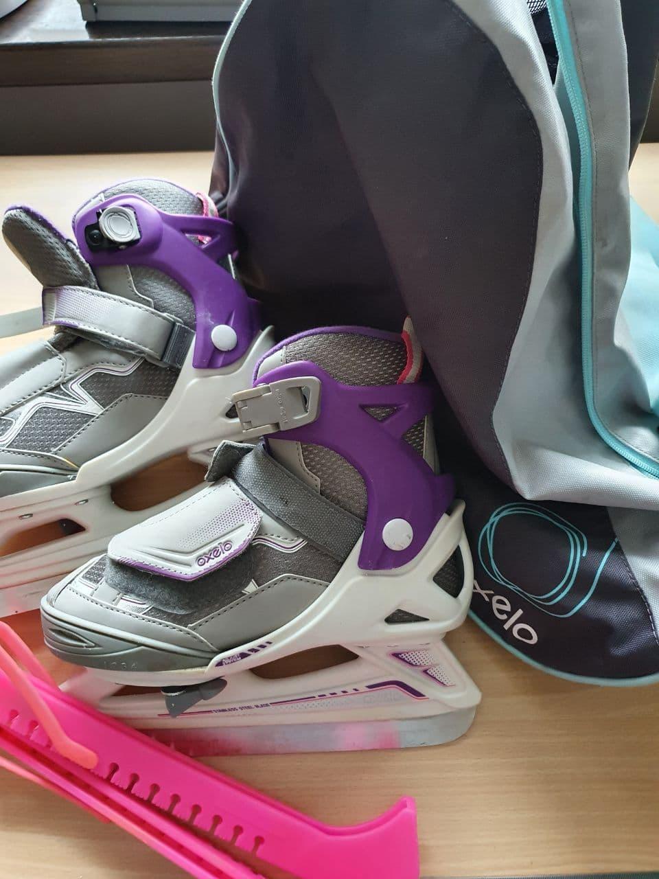 ⛸Продам детские раздвижные коньки Oxelo.