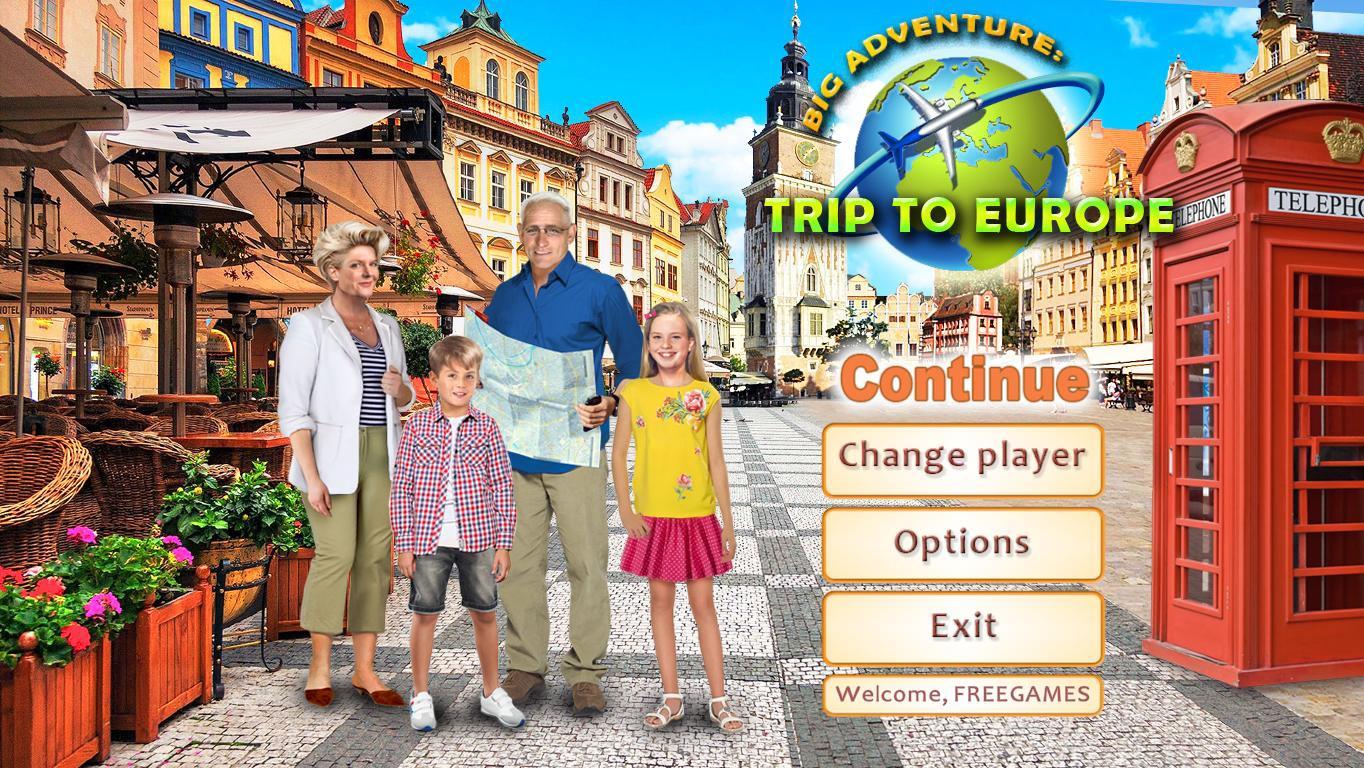 Большое приключение: Поездка в Европу | Big Adventure: Trip to Europe Multi2 (En/Rus)