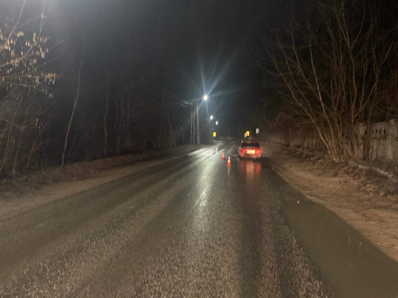 На Борковском шоссе в Кимрах неустановленный водитель спровоцировал ДТП с пострадавшей