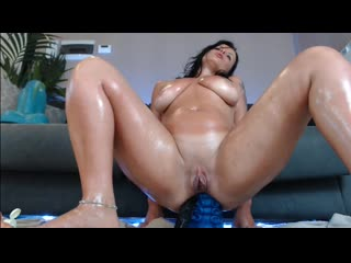 pussy gape fist squirt