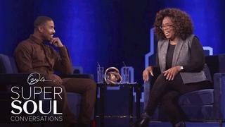 "Michael B. Jordan Responds to ""Superman"" Rumors | SuperSoul Conversations | Oprah Winfrey Network"