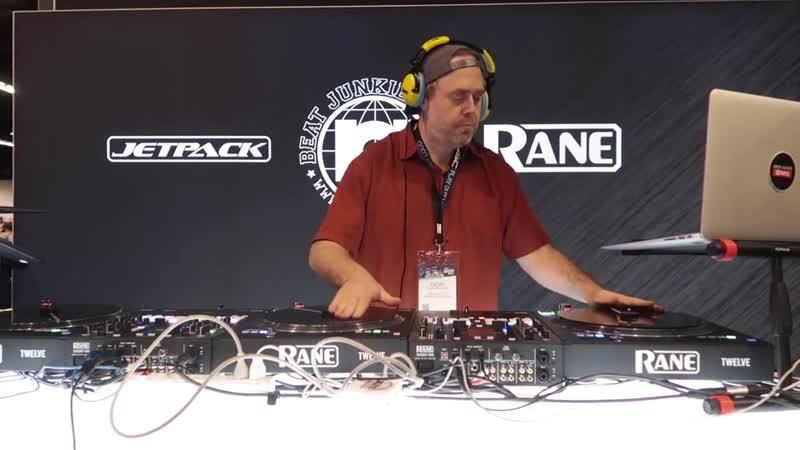 Cut Chemist Live DJ Set at JetPack Beat Junkies Rane booth from NAMM 2019 x7DkJZ0JPUo