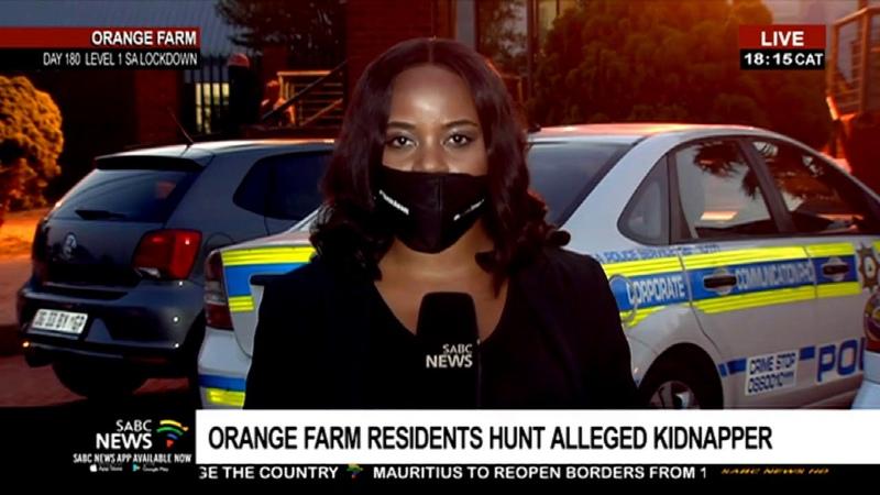 Manhunt on for alleged child kidnapper in Orange Farm