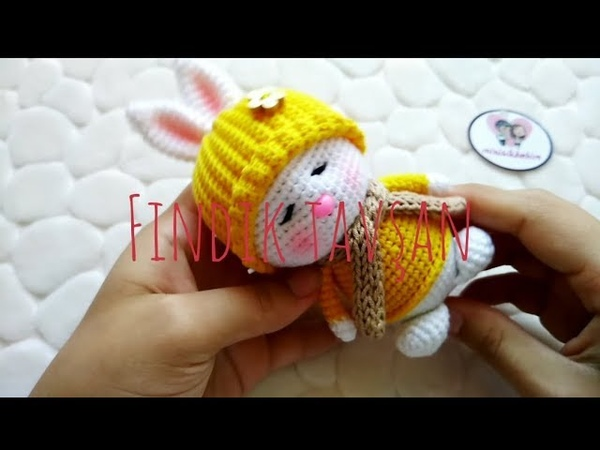 Amigurumi Fındık Tavşan Yapımı PART 1 Gövde ve Kafa Yapılışı
