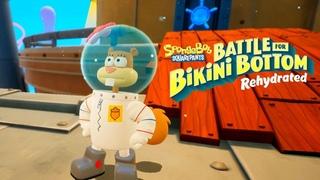 СЭНДИ В БОЛЬШОМ ГОРОДЕ ► SpongeBob SquarePants: Battle for Bikini Bottom - Rehydrated #4