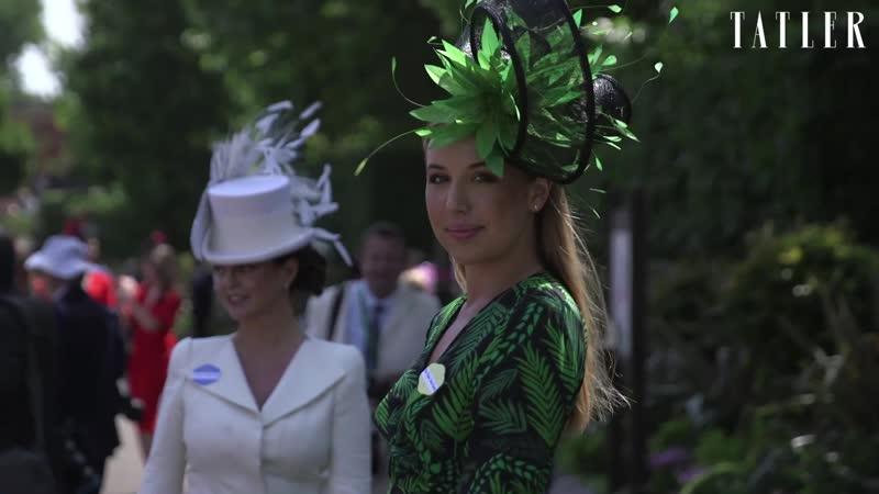Сумасшедшие шляпки на королевских скачках Royal Ascot