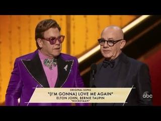 "The Oscars 2020 | ELTON JOHN, BERNIE TAUPIN - ""(I'M GONNA) LOVE ME AGAIN"" - ""ROCKETMAN"""