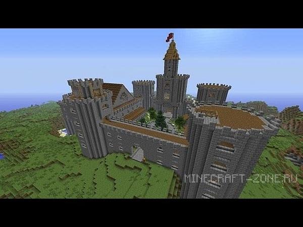 сид на майнкрафт замок