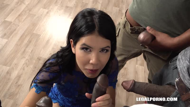 Lady Dee ( Sexy bitch Lady is coming to try black cocks IV218) 2018, Anal, Gape, Gangbang, DP, Asslicking,
