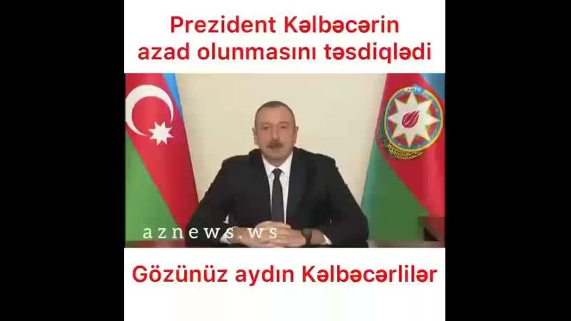 27 il sonra Kəlbəcər işğaldan azad edildi!
