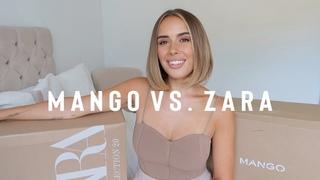 MANGO VS ZARA HAUL + TRY ON   Hello October
