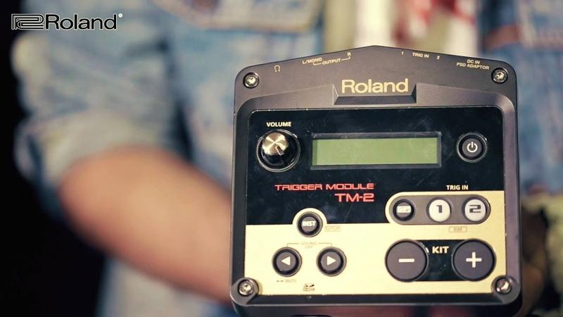 Обзор триггерного модуля ROLAND TM2. Владимир Зиновьев (Stigmata, Drumstarz)