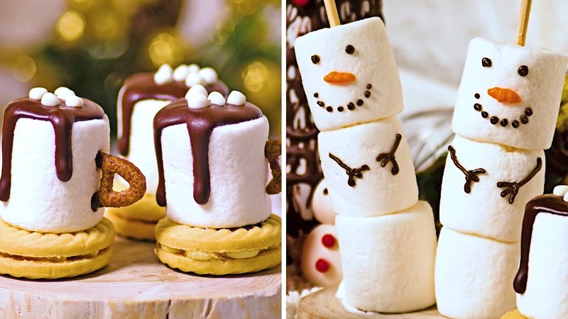 5 Last Minute Christmas Recipes DIY Dessert Decoration Christmas Food Hacks by Deli Wow