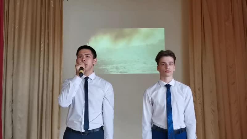 Дуэт Камертон песни Два орла У деревни Крюково