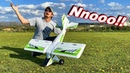 RC Plane Crash - SMASHED Straight into the Ground! - TheRcSaylors