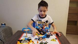Обзор Лего Буст Многофункциональный вездеход 4 17101 Review Lego Boost M T R 4