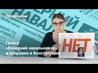 «По кочкам» с Надеждой Писец: Газета «Вечерний навальненок» и поправки в Конституцию