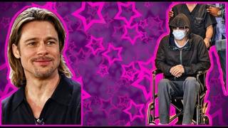 Почему Брэд Питт в инвалидной коляске