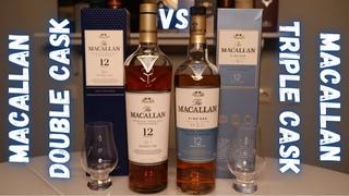 MACALLAN 12 DOUBLE CASK vs MACALLAN 12 TRIPLE CASK