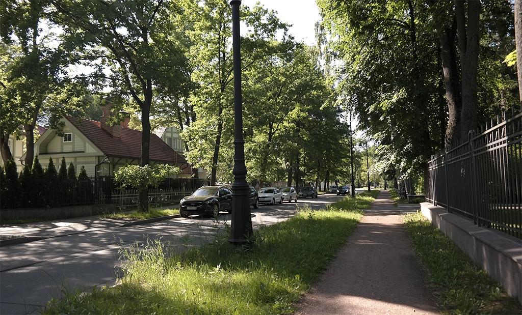 Строения на Каменном острове, Петербург 2020