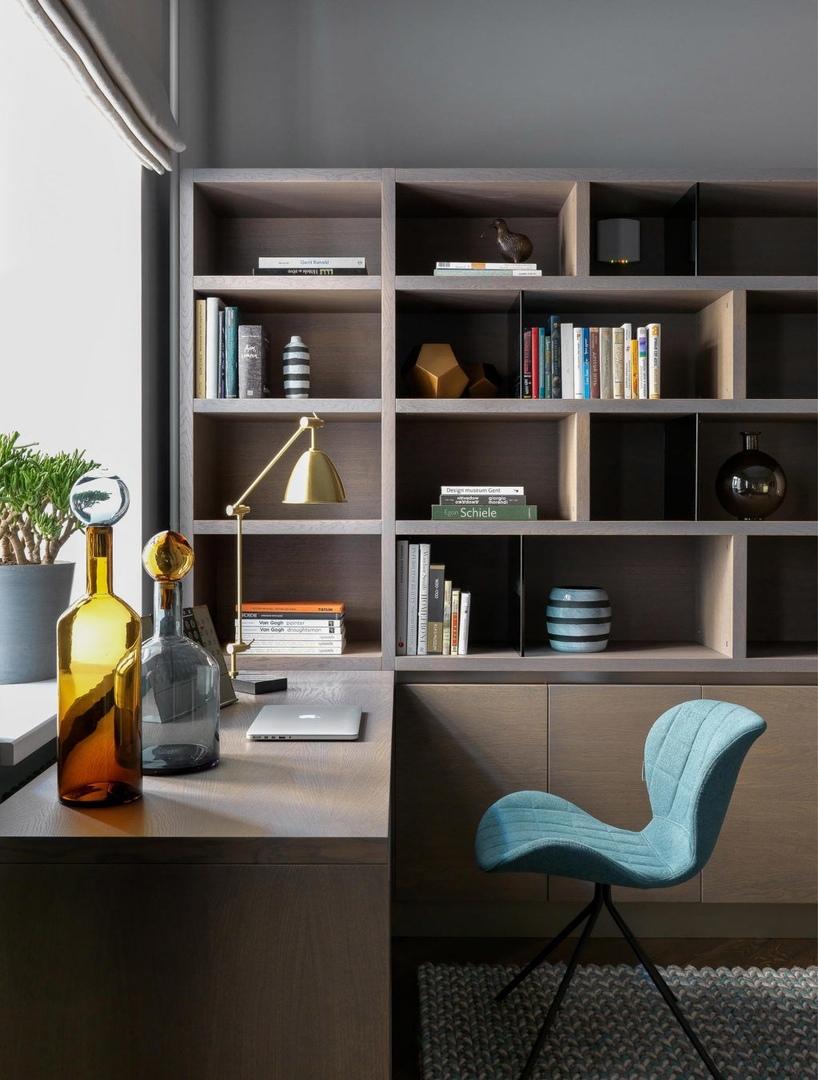 Квартира в историческом доме 120 м² от студии Aiya Design    02