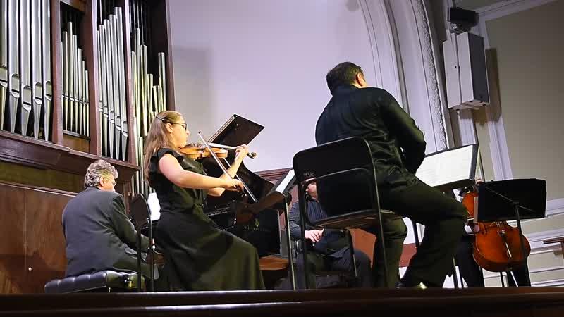 Брамс. Квинтет для фортепиано, двух скрипок, альта и виолончели фа минор, 1 часть