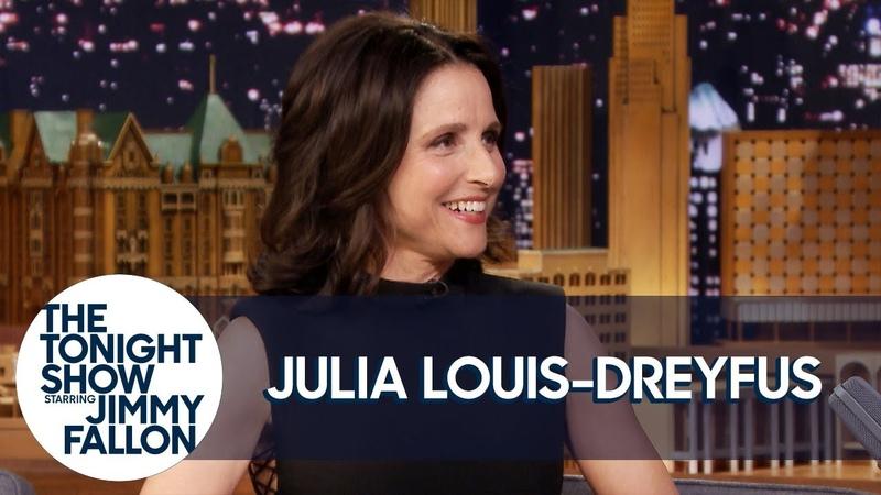 Julia Louis Dreyfus Shares Exclusive Veep Bloopers of Her and Tony Hale