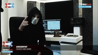 "Angerfist ""Highest Hard"" Award 2020 --- AMF Presents: Top 100 DJs Awards 2020"