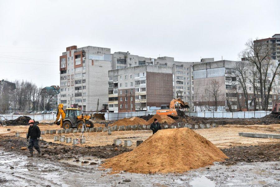 В Ярославле стартовало строительство детского сада на улице Губкина