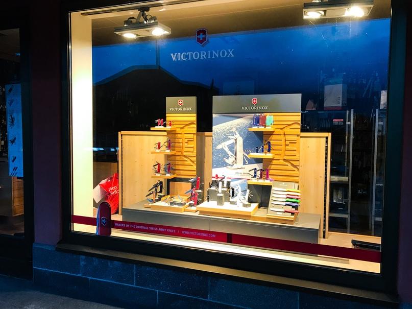 Специализированный магазин со швейцарскими ножами
