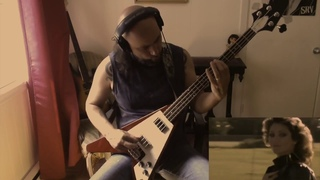 """Wham! George Michael vs Slayer """"Careless Whisper in the Abyss"""" (Bass cover)"""