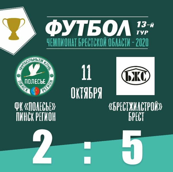 Чемпионат Брестской области. 13 тур.