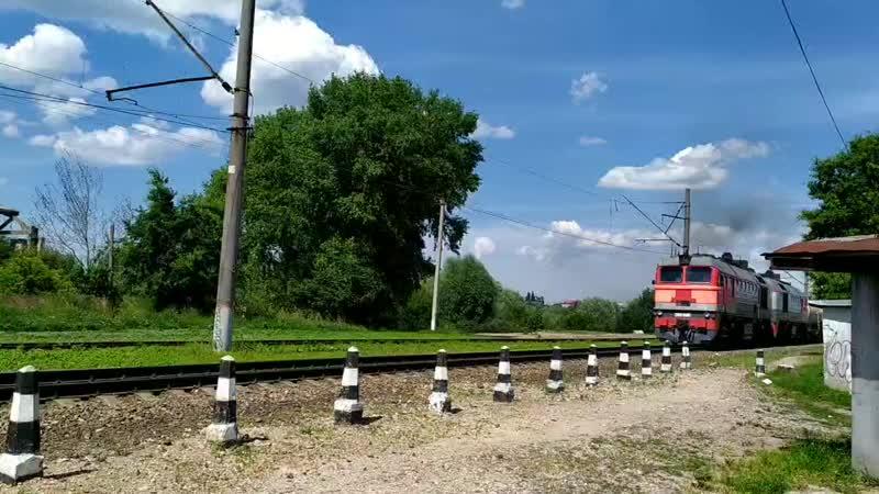 товарный поезд в Балтрайоне июль 2020